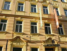 A 'Jugendstil' building as typical for Vienna