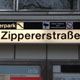 U3 station 'Zippererstrasse'