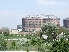 Shopping center 'Gasometer'